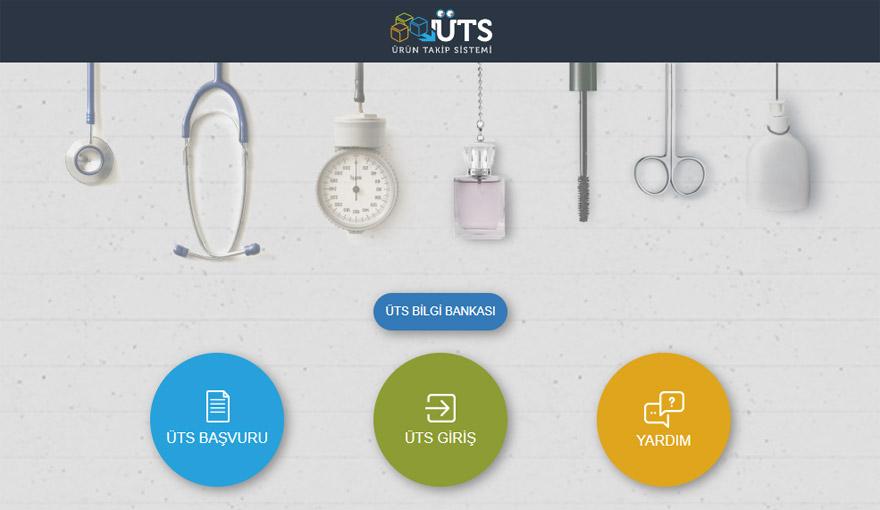 Ürün Takip Sistemi (ÜTS) Tıbbi Cihazlar İçin Açıldı